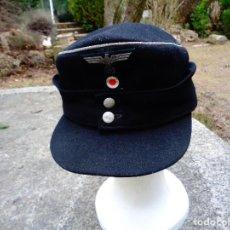 Militaria: GORRA OFICIAL TANQUE PANZER ALEMAN. Lote 73693599
