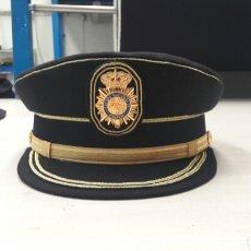 Militaria: GORRA DE PLATO DE LA POLICIA NACIONAL DE INSPECTOR. Lote 100720644