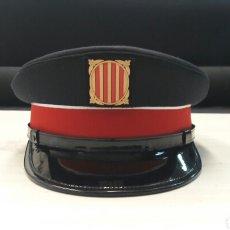 Militaria: GORRA DE PLATO DE INVIERNO DE MOSSOS DESCUADRA. Lote 99343986