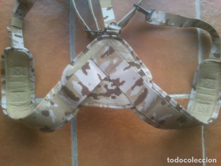 Militaria: CINTURÓN + TRINCHAS PIXELADO. BRIPAC LEGIÓN AFGANISTHAN. EJÉRCITO. DESIERTO. ÁRIDO. - Foto 2 - 74289755