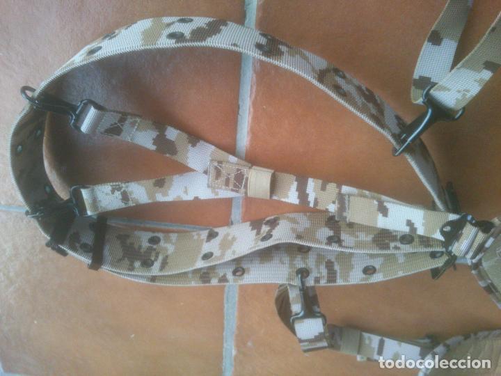 Militaria: CINTURÓN + TRINCHAS PIXELADO. BRIPAC LEGIÓN AFGANISTHAN. EJÉRCITO. DESIERTO. ÁRIDO. - Foto 3 - 74289755
