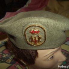 Militaria: BOINA ELOSEGUI EJERCITO DE TIERRA TALLA 55 AÑO 1991. Lote 74294075