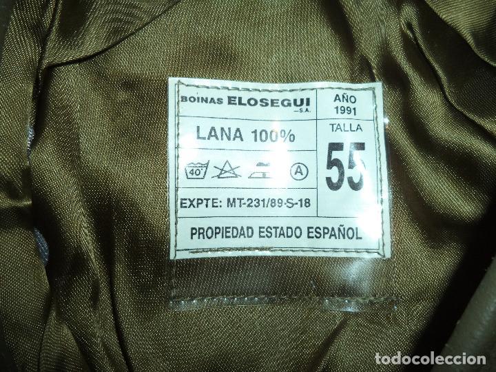 Militaria: BOINA ELOSEGUI EJERCITO DE TIERRA TALLA 55 AÑO 1991 - Foto 4 - 74294075