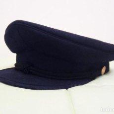 Militaria - GORRA DE PLATO DEL CUERPO NACIONAL DE POLICIA. ESCALA BASICA. ANTIGUA - 74482779