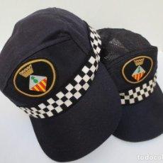 Militaria: 2 GORRAS DE FAENA - POLICIA MUNICIPAL SABADELL - TIPO BEISBOL- NORMAL Y VERANO.. Lote 75018911