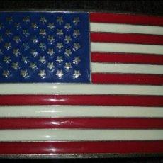 Militaria: USA. HEBILLA PATRIOTICA. 9 X 6 CM.. Lote 75100191