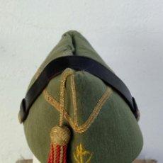 Militaria: ANTIGUO GORRILLO O CHAPIRI DE OFICIAL LEGION ESPAÑOLA, TERCIO DE EXTRANJEROS, , SAHARA. Lote 75114411