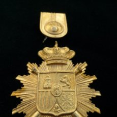 Militaria: EMBLEMA PLACA PARA ROS DE ARTILLERÍA. ÉPOCA ALFONSO XIII. Lote 76140319