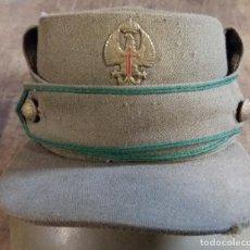 Militaria: TERESIANA DE LAS TROPAS DE MONTAÑA, 51 CM DE PERÍMETRO INTERIOR. Lote 76167215