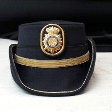 Militaria: SOMBRERO DE MUJER DE POLICIA NACIONAL DE SUBINSPECTOR. Lote 100720626