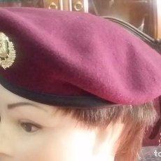 Militaria: BOINA GORRA, POLICIA WEGA,NACIONAL INTERVENCION DE AUSTRIA CON INSIGNIA METAL PERRO REX. Lote 76963209