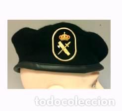 ESTUPENDA BOINA DE LA UNIDAD DEL G.R.S DE LA GUARDIA CIVIL CON EMBLEMA METALICO TALLA 56 (Militar - Boinas y Gorras )