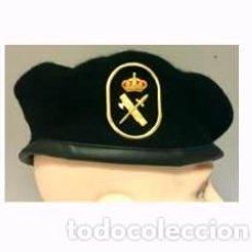 Militaria: ESTUPENDA BOINA DE LA UNIDAD DEL G.R.S DE LA GUARDIA CIVIL CON EMBLEMA METALICO TALLA 54. Lote 77871803