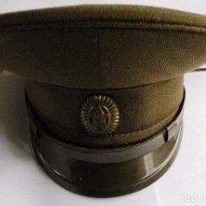 Militaria: GORRA DEL OFICIAL DEL EJERCITO SOVIETICO. Lote 79033105
