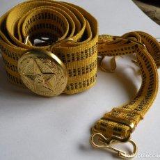 Militaria: CINTURÓN DEL DESFILE DE OFICIAL DEL EJERCITO SOVIETICO. Lote 79034669