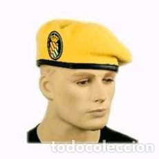 Militaria: ESTUPENDA BOINA DE LA UNIDAD MILITAR DE EMERGENCIAS-UME CON EMBLEMA, TALLAS DE LA 55 A LA 60. Lote 79573325