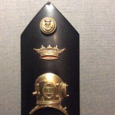 Militaria: UNA PALA DE BUZO MAYOR, AÑOS 40 DE LA ARMADA, MARINA. CUERPO DE BUZOS. NAVAL.. Lote 69311989