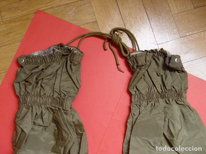 Militaria: POLAINAS militares. Ejército Español de Tierra. Infantería (1970-80's) Originales. Coleccionista. - Foto 5 - 79758661