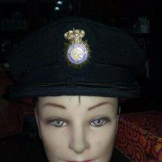 Militaria: POLICIA NACIONAL. GORRA DE PLATO. Lote 80488589