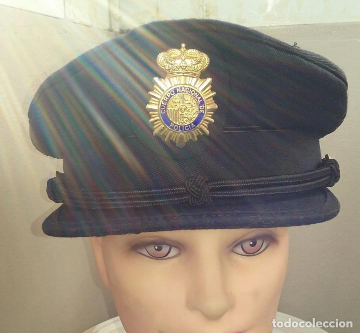 Militaria: POLICIA NACIONAL. GORRA DE PLATO - Foto 2 - 80488589