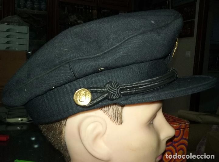 Militaria: POLICIA NACIONAL. GORRA DE PLATO - Foto 3 - 80488589