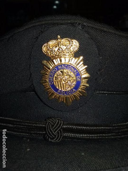 Militaria: POLICIA NACIONAL. GORRA DE PLATO - Foto 6 - 80488589