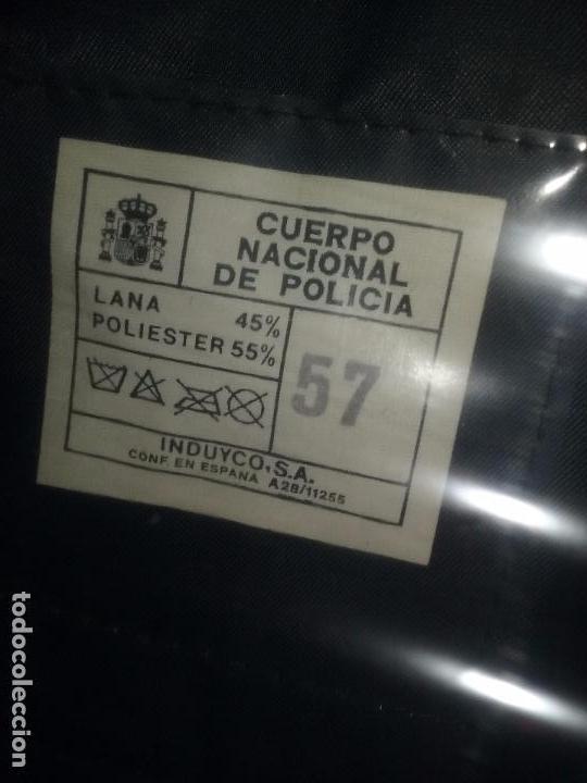 Militaria: POLICIA NACIONAL. GORRA DE PLATO - Foto 8 - 80488589