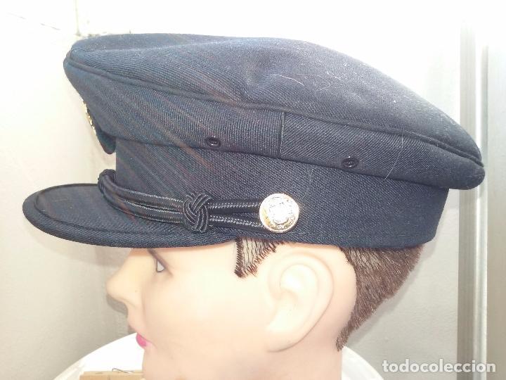 Militaria: POLICIA NACIONAL. GORRA DE PLATO - Foto 10 - 80488589