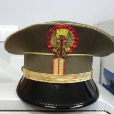 Militaria: GORRA DE PLATO DE BRIGADA DEL CUARTEL GENERAL. Lote 80494625