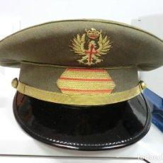 Militaria: GORRA DE PLATO DE SARGENTO DEL EJERCITO DE TIERRA. Lote 80498437