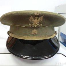 Militaria - GORRA DE PLATO DE ALFÉREZ DEL EJERCITO DE TIERRA - 80499389