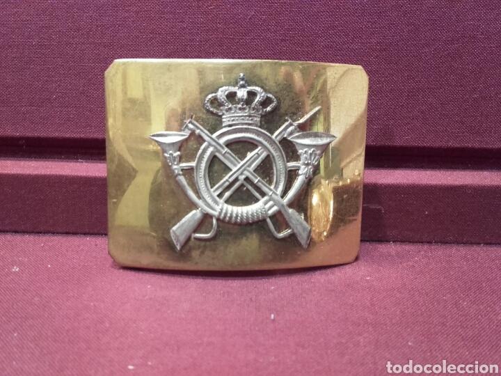 Militaria: CHARRETERAS, GOLA Y HEBILLA. ÉPOCA ALFONSO XIII. - Foto 4 - 80872256