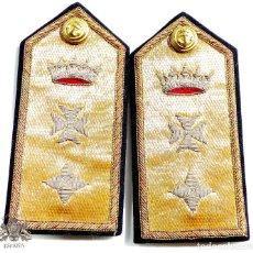 Militaria: HOMBRERAS ALMIRANTE - SANIDAD MILITAR NAVAL - REGLAMENTO DEL 43. Lote 80965516