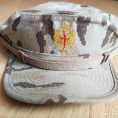 Militaria: GORRA ARIDA DEL EJERCITO ESPAÑOL CUADRICULADA, NUEVA, TALLA M. Lote 81148116