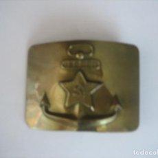 Militaria: HEBILLA DE MARINA, RUSA. Lote 81569300