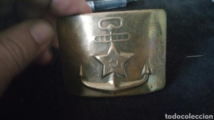 HEBILLA MUY ANTIGUA DEL EJÉRCITO RUSO ORIGINAL (Militar - Cinturones y Hebillas )