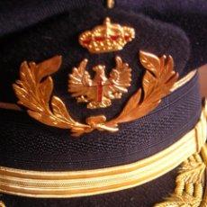 Militaria: GORRA DE GALA DEL EJERCITO DE TIERRA. PERTENECIÓ A UN TENIENTE GENERAL. EXCEPCIONAL CALIDAD.. Lote 82527696