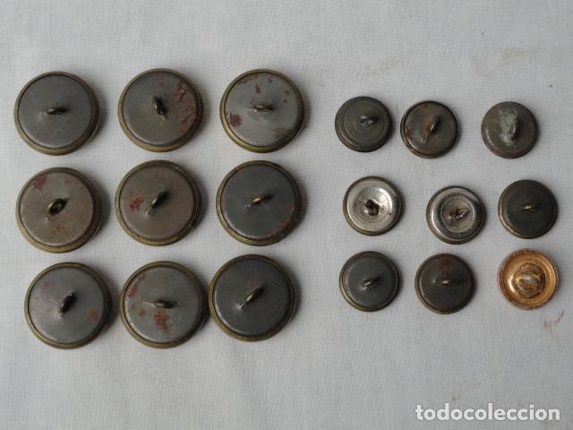 Militaria: 18 BOTONES MILITARES. - Foto 6 - 82662880