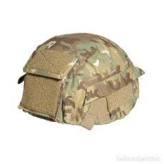 Militaria: ESTUPENDA FUNDA CASCO CAMUFLAJE TALLAS M-L-XL. Lote 83697940