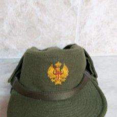 Militaria: GORRA MILITAR. Lote 83701200