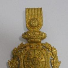 Militaria: ESCUDO DE GORRO. ALFONSO XIII. VER FOTOS. Lote 83885840