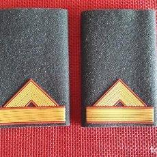 Militaria: HOMBRERAS GUARDIA CIVIL EMPLEO CABO MAYOR. Lote 84037908