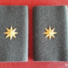 Militaria: HOMBRERAS GUARDIA CIVIL EMPLEO COMANDANTE. Lote 136840736