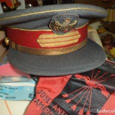 Militaria: GORRA UNIFORME SARGENTO DE POLICÍA ARMADA / NACIONAL.CASA YUSTAS ORIGINAL AÑOS 60.. Lote 84445316