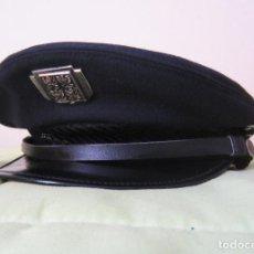 Militaria: REPUBLICA CHECA: GORRA DE PLATO DE LA POLICIA.. Lote 27026554