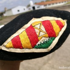 Militaria: ANTIGUA BOINA DE BOY SCOUTS ESCOLTES CATALANS CATALUÑA CATALUNYA AÑOS 30-40 (REF-PEÑ1). Lote 84765088