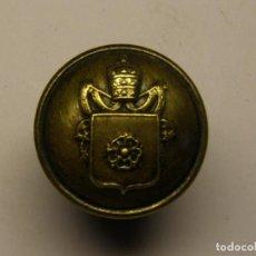 Militaria - Antiguo botón con el escudo de la ciudad de Reus. - 84874884