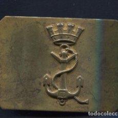 Militaria: HEBILLA. 2ª REPÚBLICA Y GUERRA CIVIL ESPAÑOLA. MARINA.. Lote 85510276