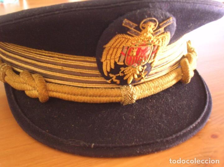Militaria: ANTIGUA GORRA FRANQUISTA. CASA YUSTAS DE MADRID. JERARCA FALANGISTA. MOVIMIENTO NACIONAL. - Foto 3 - 85810280