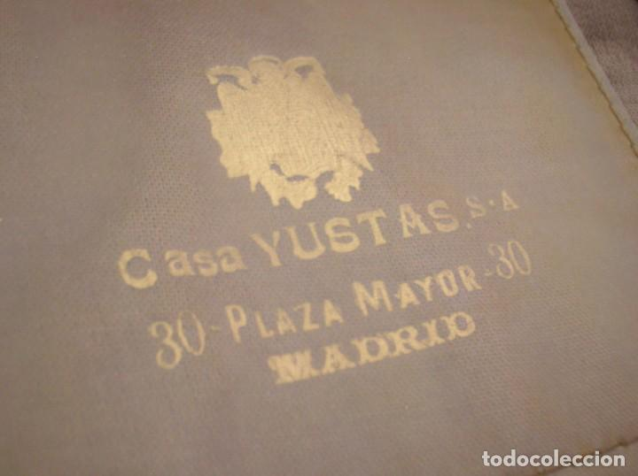 Militaria: ANTIGUA GORRA FRANQUISTA. CASA YUSTAS DE MADRID. JERARCA FALANGISTA. MOVIMIENTO NACIONAL. - Foto 6 - 85810280
